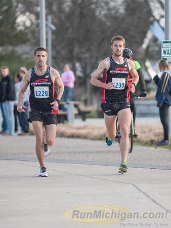3 Mile Mark, Gallery 1 - 2014 Lansing Marathon and Half Marathon