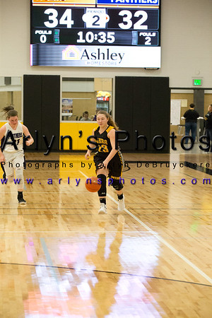 Hutch Girls Basketball vs GSL