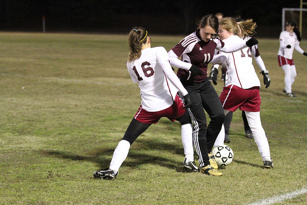 Lady Rebels vs Natchitoches Jan 11 2011