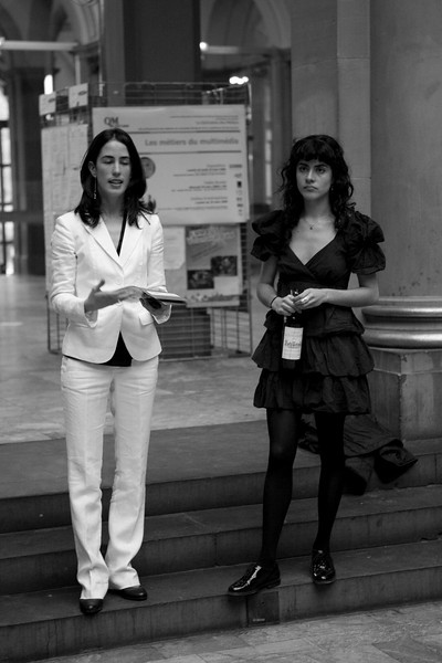 Barbara Carroll et Pia Camil