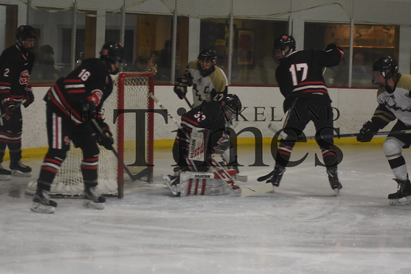 Boys' Hockey vs Stevens Point 1/19/19