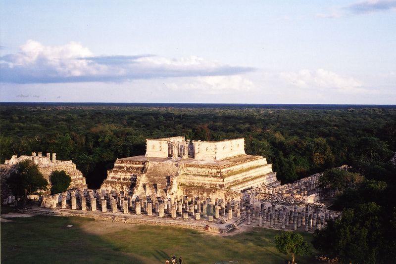 """""""Temples at Chichen Itza"""""""