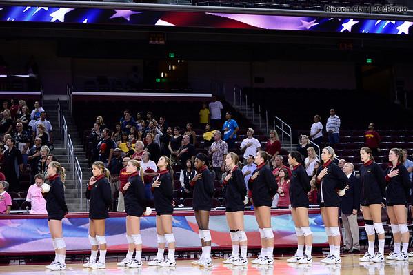 USC Women's Volleyball v WSU 2012