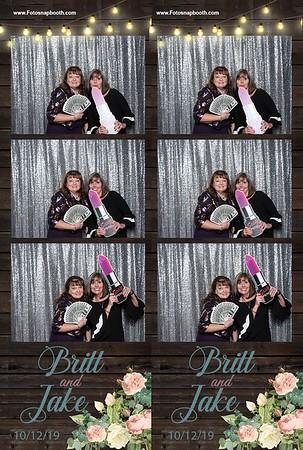 Britt & Jake's Wedding 2019