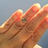 1.56ct Rustic Rose Cut Diamond Bezel Ring, by Single Stone 9