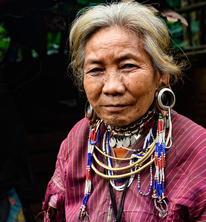 Myanmar Tribal People - October 2018