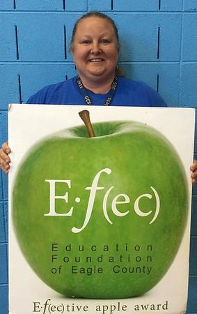 Tonya FarmerKindergarten Teacher Gypsum Elementary SchoolFebruary 2015 Winner