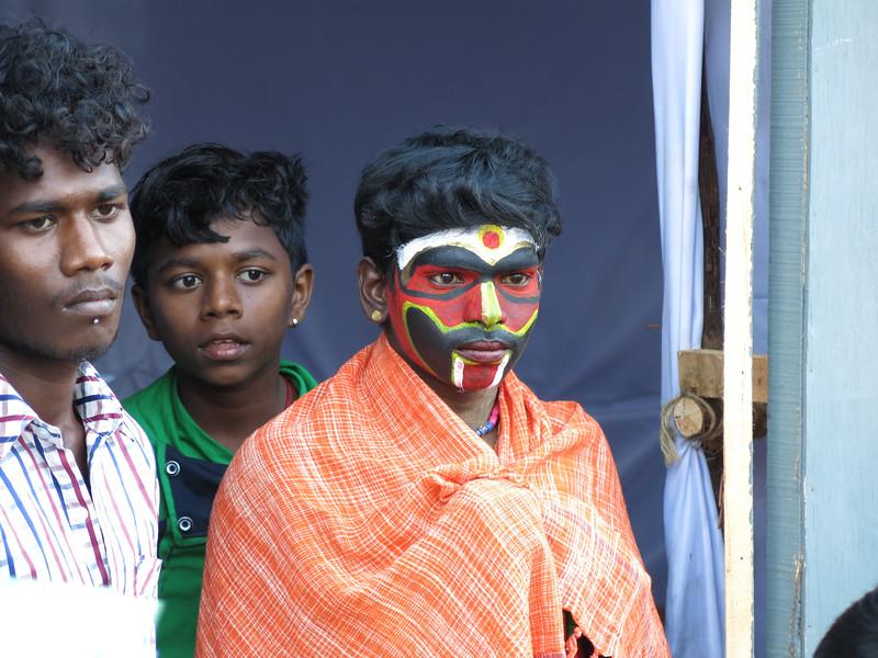 Performers at Dance Festival in Mahabalipuram