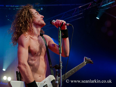Airbourne - Hard Rock Hell IV 2010