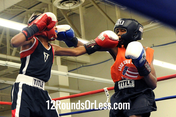 Bout 4 Kamal Muhammad -vs- Tyler Duncan, Junior, 80 lbs.