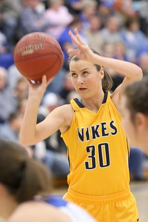 Girls Basketball, Notre Dame vs Danville 12/2/2014