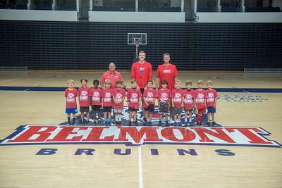 Men's Basketball camp week of June 2