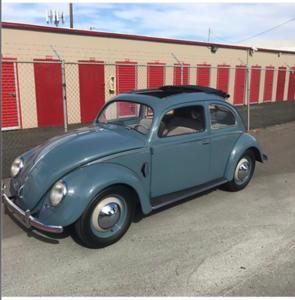 Dark Blue VW (Restored)