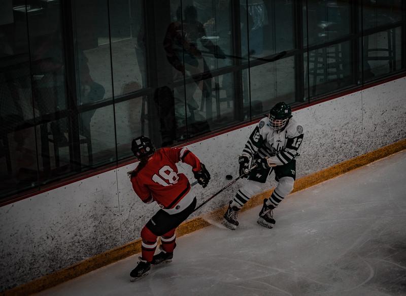 Holy Family Girls Varsity Hockey vs. Mound Westonka, 12/10/19: Caitlin Rock '20 (12)