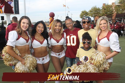 Washington Redskins Fantennial Celebration: 10/19/2019