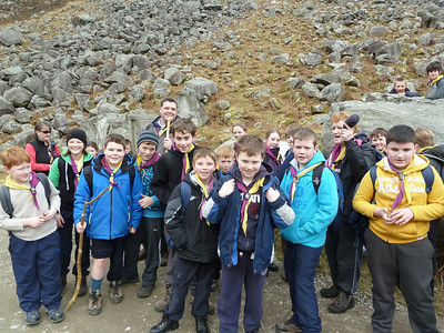 Cubs: 2013 Glendalough Hike and Hostel March 2013