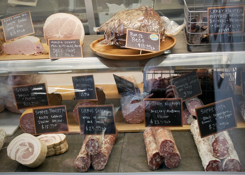 New butcher & charcuterie shop that opened in South Anchorage called Butcher Block No. 9 making a ton of stuff in house