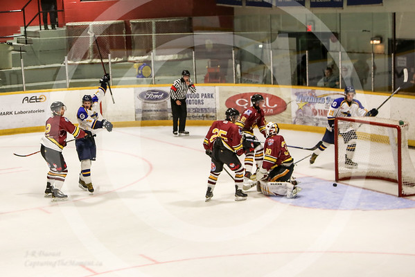 Pre-season Exhibition Vs Timmins Rock, August 21st 2015.