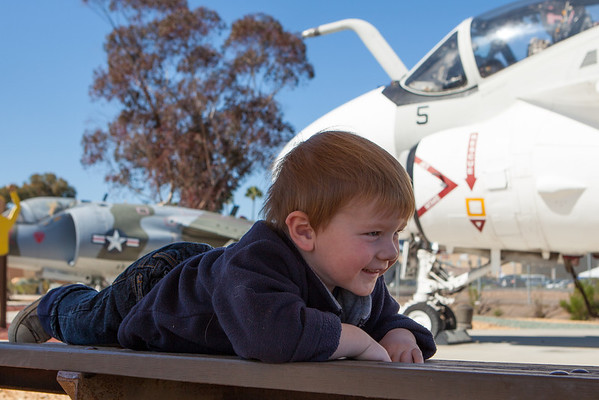 Aiden @ Miramar Air Museum March 2013