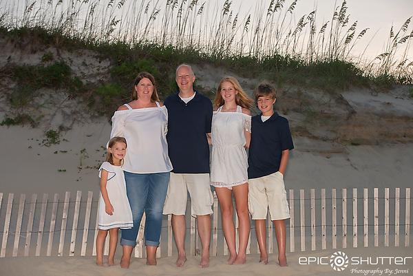 Avon Fishing Pier, Family Vacation, Sunset, Avon, Hatteras Island, North Carolina, Family Photos, Family Portraits, Senior Portraits, Epic Shutter Photography
