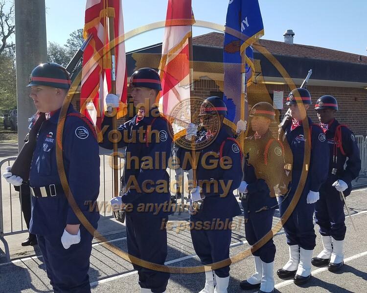 24. Special Olympics Color Guard