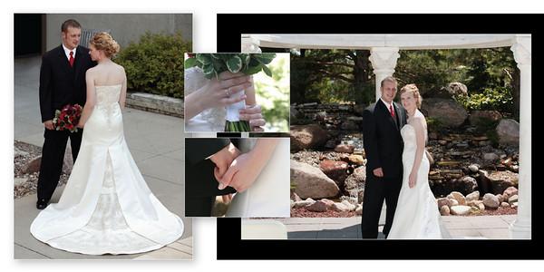The Wedding Album of Erin & Dustin