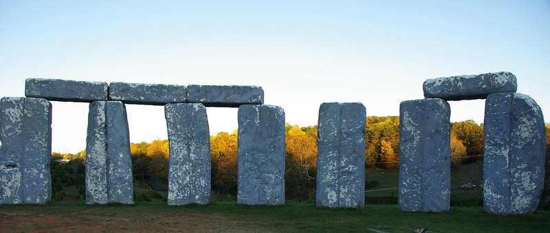 Foamhenge: Natural Bridge; October, 2007