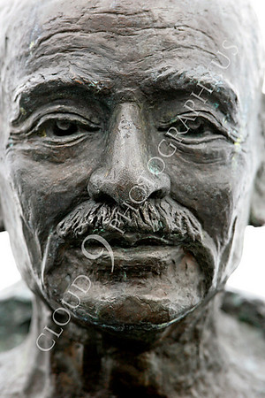 Mohandas Gandhi Statuary Pictures [1869-1948]: Assassinated Indian Lawyer Champion of Non-Violence and India's Independence