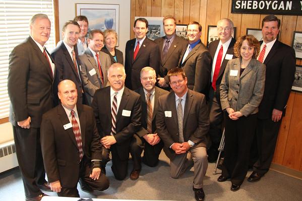 Governor Walker Visits Sheboygan