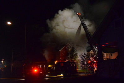 12-15-13 Coshocton FD House Fire