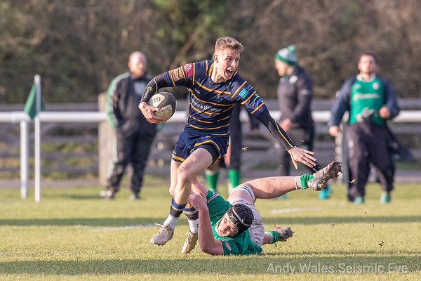 London Irish Wild Geese v Worthing Raiders Feb 2019