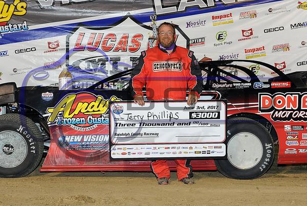 MLRA Randolph County Speedway 06/03/17