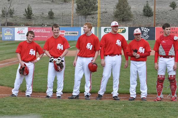 Grant Union vs.South Albany Baseball