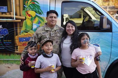Sgt. Natan Rosales Surprises Son At Andy Woods Elementary by Michel Alfaro