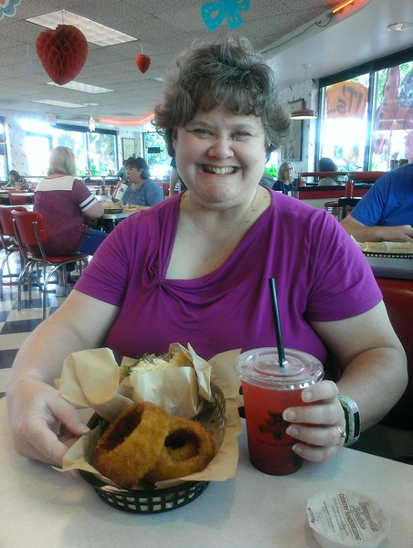 Fav birthday lunch - Walla Walla Onion Rings from Burgerville