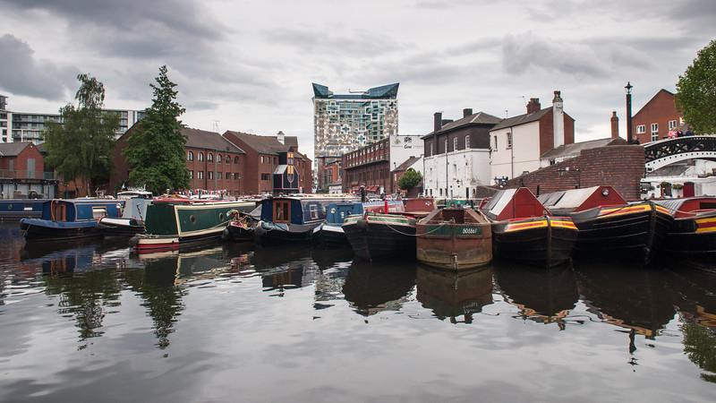 Regency Wharf on the Birmingham Canal