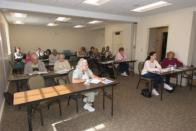 Seniors Ministry - Driver Safety Course - September 15, 2014