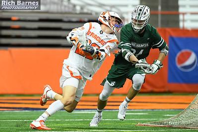 NCAA MLax: Binghamton at SU; 2/10/18