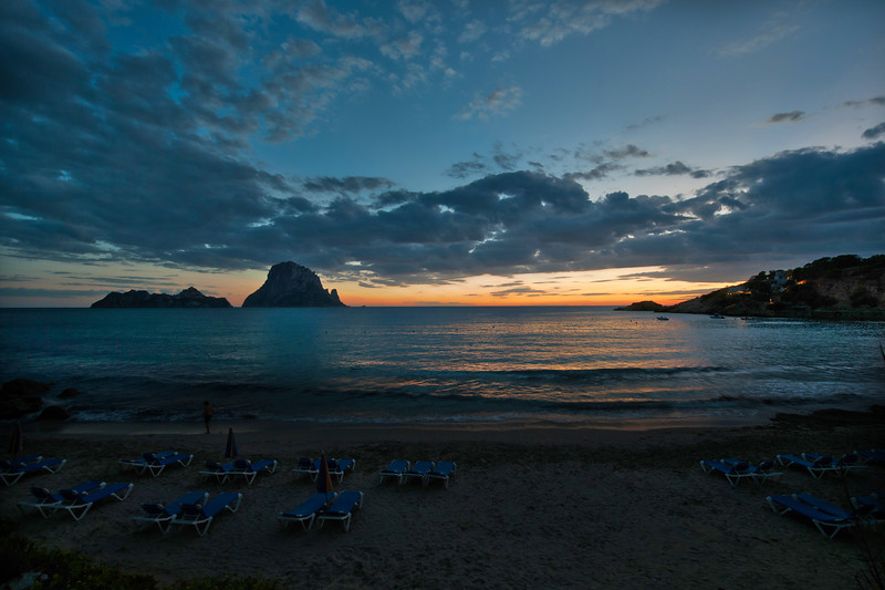 Ibiza Coast at Sunset
