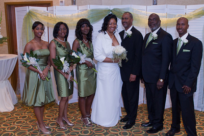 Donovan Creighton and Shelia Haywood Wedding