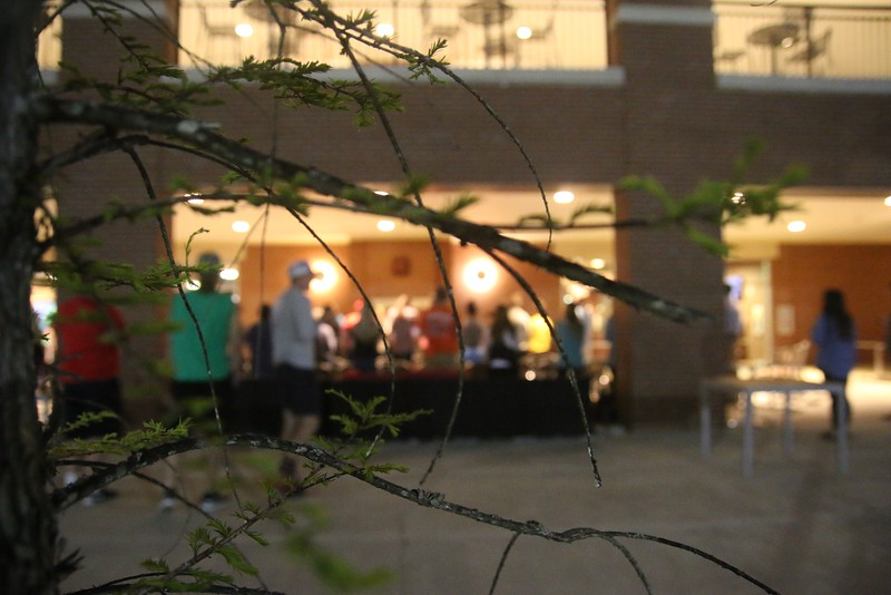 On Monday night, April 4th, Release the Captives kicked off Human Trafficking Awareness week by hosting a night of worship on the back patio of the Tucker Student Center.
