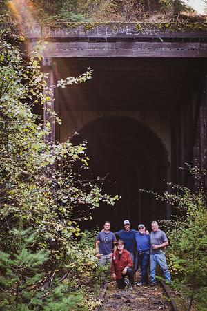 2020-9 Team Rust Rides the Rails in Orofino, Idaho