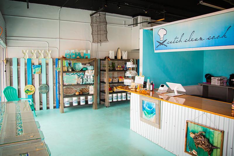Catch Clean Cook Marketplace and Deli on Alternate A1A in North Palm Beach, Monday, June 1, 2020. [JOSEPH FORZANO/palmbeachpost.com]