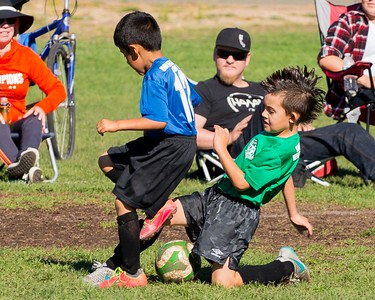 Dylan's Soccer Game 10-31-2015