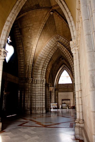 The Heart of Basílica del Voto Nacional in Quito Ecuador