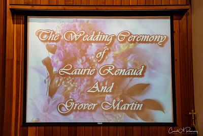 Renaud Martin Wedding 7/10/21