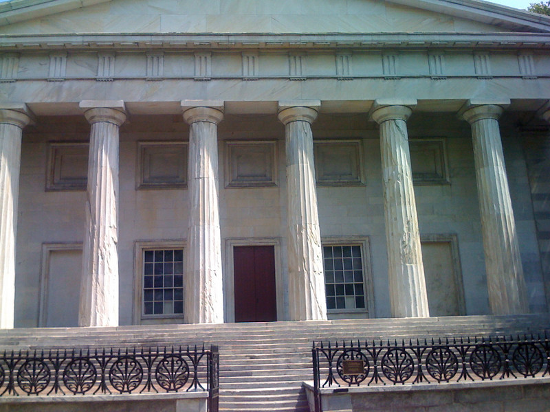The first national bank.