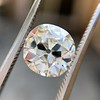 2.25ct Antique Cushion, GIA K SI2 26