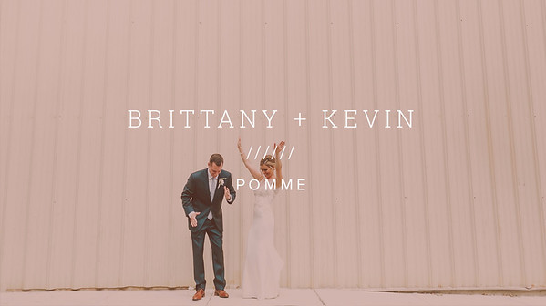 BRITTANY + KEVIN ////// POMME