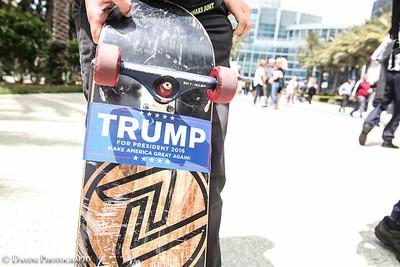Trump Rally Anaheim Convention 2016